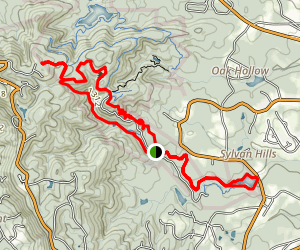 Paris Mountain State Park Loop Trail Map