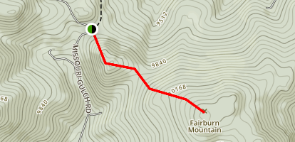 Fairburn Mountain Trail Map