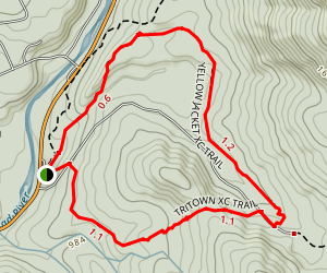 Pine Flat to Tritown XC Trail Map