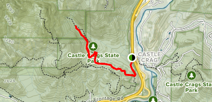 Root Creek Trail Map