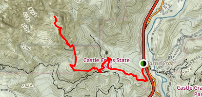 Castle Dome Trail Map