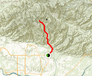 Esperero Canyon Trail  Map