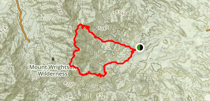 Gardner Canyon Trail Map
