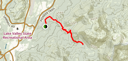Corral Trail  Map