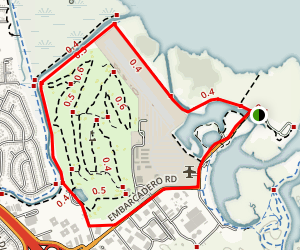 Cooley Landing Trail Map