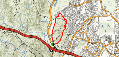 Barbara's Lake Loop Trail Map