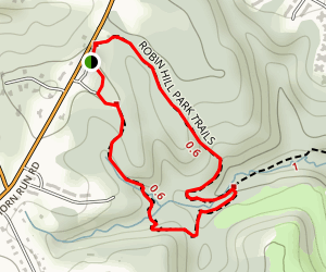 Robin Hill Park Trail Map