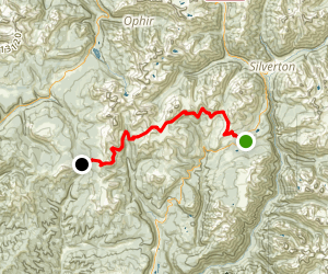 Colorado Trail Segment 25 Map