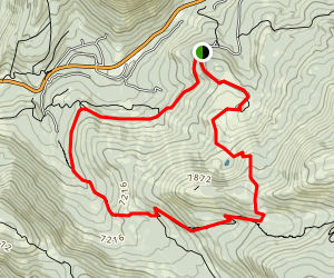 Sayles Canyon Loop Map