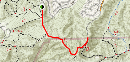Greenbriar Trail Map