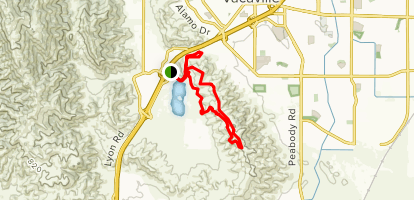 Lagoon Valley Park Mtb Trail Map
