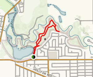 Lodi Lake Nature Trail Map