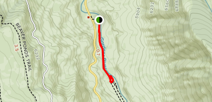 Boiling River Trail Map