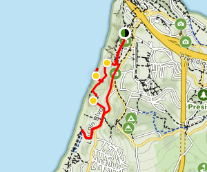 Batteries to Bluffs Trail Map