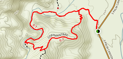 Coffman Trail Map