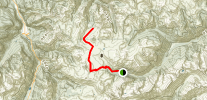Engineer Mountain Trail Map