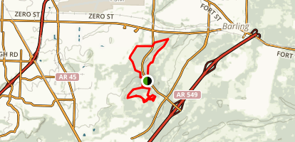 Ben Geren Bike trail Map