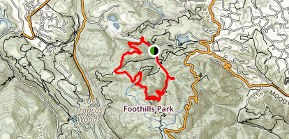 Trappers Trail [CLOSED] Map