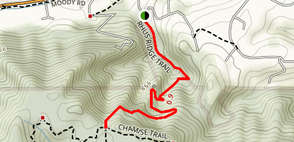 Rhus Ridge Trail Map