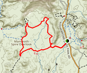 Panorama Trail Map