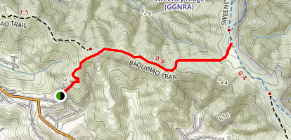 Baquaiano Trail Map