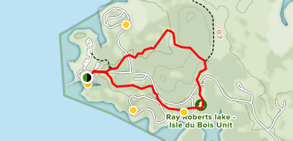 Randy Bell Scenic Trail Map