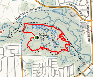 Bloomer Park MTB Trail Map