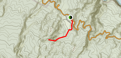 Pakaoao (White Hill) and Puu Ulaula (Red Hill) Trail Map