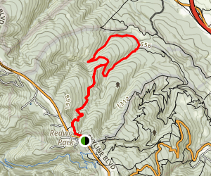 Raymundo Trail Map