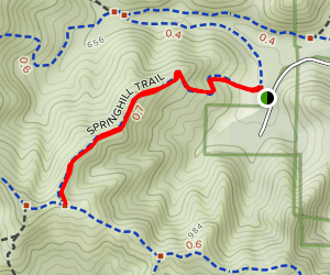 Springhill Valley Trail Map