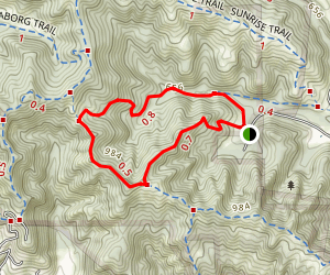 Springhill to Buckeye Ranch Loop Map