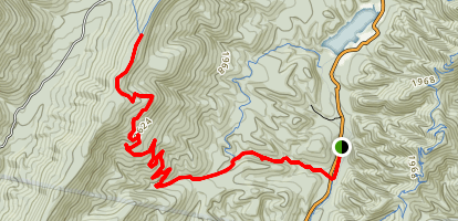Stony Run Trail Map