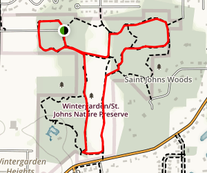 Slippery Elm Trail Map
