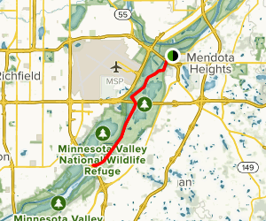 Mendota Trail Map