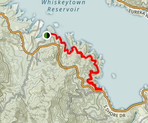 Whiskeytown Reservoir Trail Map