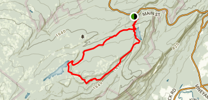 Carriageway Circuit Trail Map
