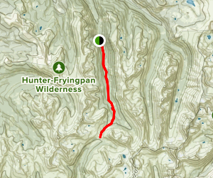 South Fork Pass Trail Map