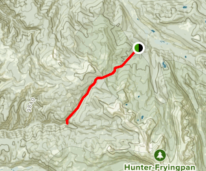 Spruce Creeke Norrie Trail Map