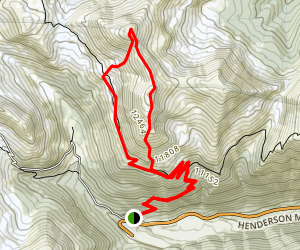 Vasquez Peak Map