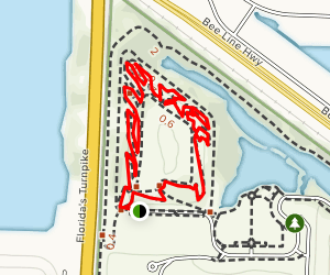 Dyer Park Trail Map