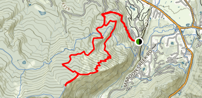 Buttermilk Mountain Trail Map