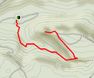 Point Rock Trail Map