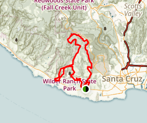 Wilder Ranch State Park Loop Trail Map