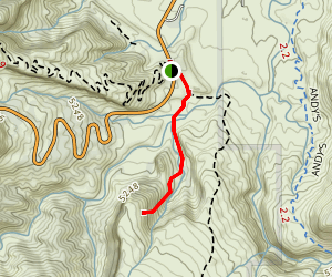 Devils Kitchen Trail Map