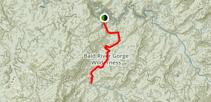 Bald River Trail Map
