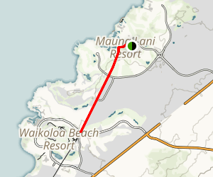 Kiholo-Puako Trail Map