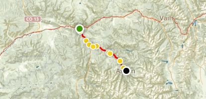 Rio Grande Trail Map