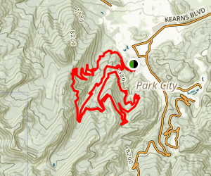 Park City Mountain Ski Resort Trail Map