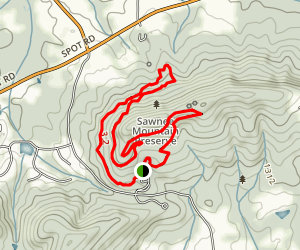 Indian Seats Trail Loop Map