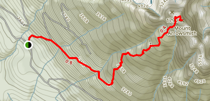 Mount Arrowsmith Trail Map